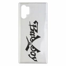 Чехол для Samsung Note 10 Plus Bad Boy Logo
