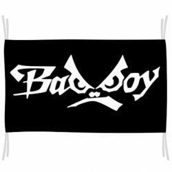 Флаг Bad Boy Logo