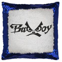 Подушка-хамелеон Bad Boy Logo
