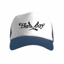 Детская кепка-тракер Bad Boy Logo