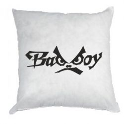 Подушка Bad Boy Logo - FatLine