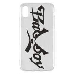 Чехол для iPhone X/Xs Bad Boy Logo