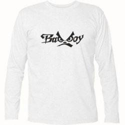 Футболка с длинным рукавом Bad Boy Logo - FatLine