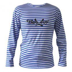 Тельняшка с длинным рукавом Bad Boy Logo - FatLine