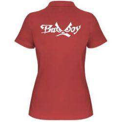 Женская футболка поло Bad Boy Logo - FatLine