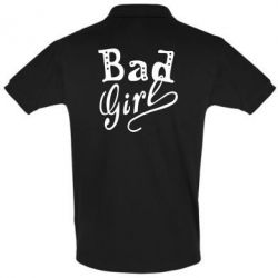 Футболка Поло Bad Girl - FatLine