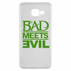 Чехол для Samsung A3 2016 Bad Meets Evil
