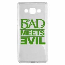 Чехол для Samsung A5 2015 Bad Meets Evil