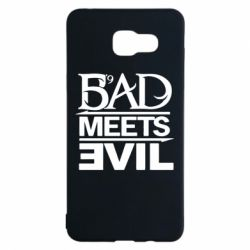 Чехол для Samsung A5 2016 Bad Meets Evil