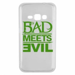 Чехол для Samsung J1 2016 Bad Meets Evil