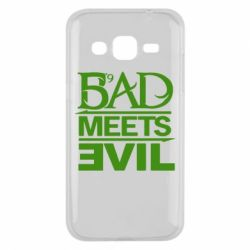 Чехол для Samsung J2 2015 Bad Meets Evil