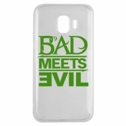 Чехол для Samsung J2 2018 Bad Meets Evil