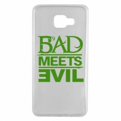 Чехол для Samsung A7 2016 Bad Meets Evil