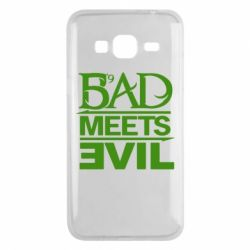 Чехол для Samsung J3 2016 Bad Meets Evil