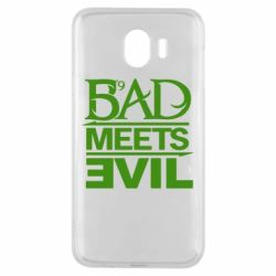 Чехол для Samsung J4 Bad Meets Evil