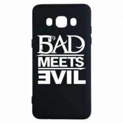 Чехол для Samsung J5 2016 Bad Meets Evil