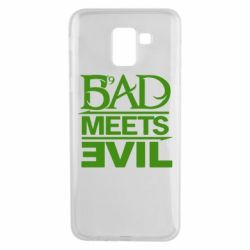 Чехол для Samsung J6 Bad Meets Evil