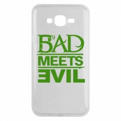 Чехол для Samsung J7 2015 Bad Meets Evil