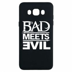 Чехол для Samsung J7 2016 Bad Meets Evil