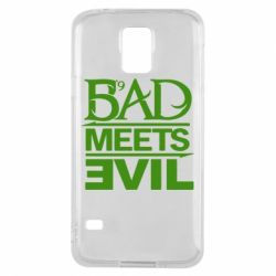 Чехол для Samsung S5 Bad Meets Evil
