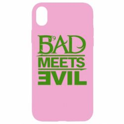 Чехол для iPhone XR Bad Meets Evil