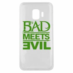 Чехол для Samsung J2 Core Bad Meets Evil