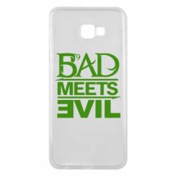 Чехол для Samsung J4 Plus 2018 Bad Meets Evil