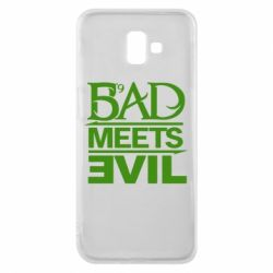 Чехол для Samsung J6 Plus 2018 Bad Meets Evil