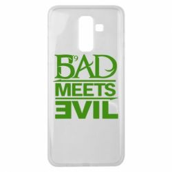 Чехол для Samsung J8 2018 Bad Meets Evil