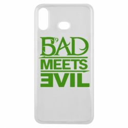Чехол для Samsung A6s Bad Meets Evil