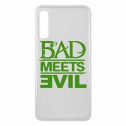 Чехол для Samsung A7 2018 Bad Meets Evil