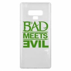 Чехол для Samsung Note 9 Bad Meets Evil