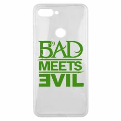 Чехол для Xiaomi Mi8 Lite Bad Meets Evil