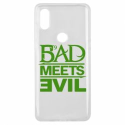 Чехол для Xiaomi Mi Mix 3 Bad Meets Evil