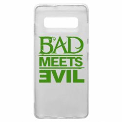 Чехол для Samsung S10+ Bad Meets Evil
