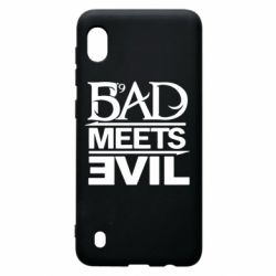 Чехол для Samsung A10 Bad Meets Evil