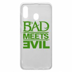 Чехол для Samsung A30 Bad Meets Evil