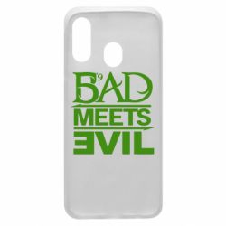 Чехол для Samsung A40 Bad Meets Evil