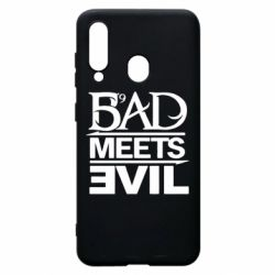 Чехол для Samsung A60 Bad Meets Evil