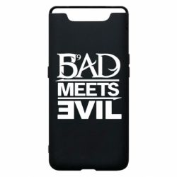 Чехол для Samsung A80 Bad Meets Evil