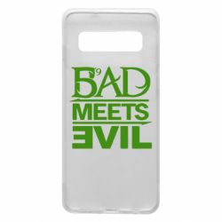 Чехол для Samsung S10 Bad Meets Evil
