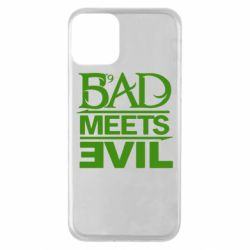 Чехол для iPhone 11 Bad Meets Evil