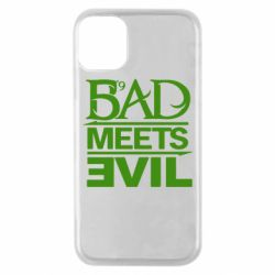 Чехол для iPhone 11 Pro Bad Meets Evil
