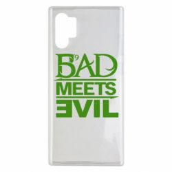 Чехол для Samsung Note 10 Plus Bad Meets Evil