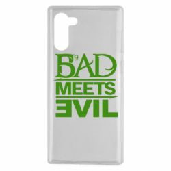 Чехол для Samsung Note 10 Bad Meets Evil