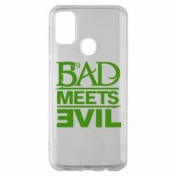 Чехол для Samsung M30s Bad Meets Evil