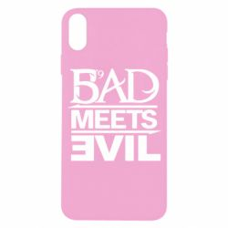 Чехол для iPhone X/Xs Bad Meets Evil