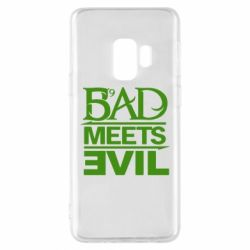 Чехол для Samsung S9 Bad Meets Evil