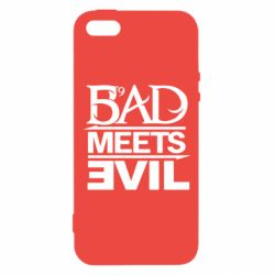 Купить Rap, Чехол для iPhone5/5S/SE Bad Meets Evil, FatLine