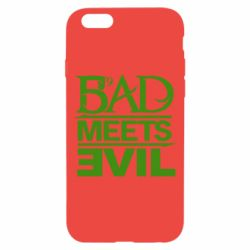 Чехол для iPhone 6/6S Bad Meets Evil